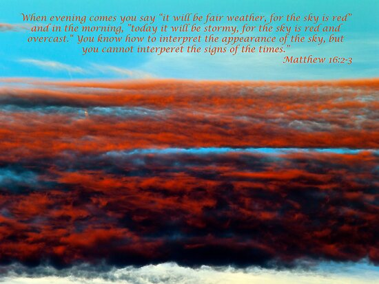 Matthew 15 2-3 by Glen Allen