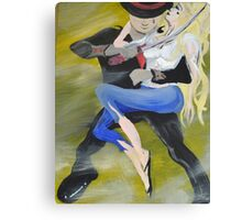 Love versus capitalism who will win? Canvas Print