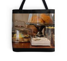 something special i spied at the cafe! Tote Bag