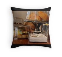 something special i spied at the cafe! Throw Pillow