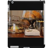 something special i spied at the cafe! iPad Case/Skin