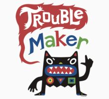 Trouble Maker V - black monster One Piece - Short Sleeve