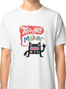 Trouble Maker V - black monster Classic T-Shirt
