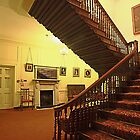 Oak Staircase and Entrance Hall, Bradbourne House by Dave Godden
