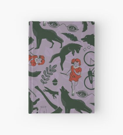 little red Hardcover Journal