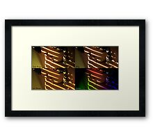 lily by the window - the four faces of the day Framed Print
