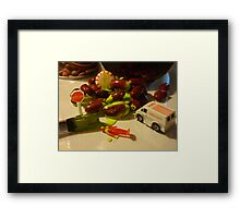 The Ending Scene Framed Print