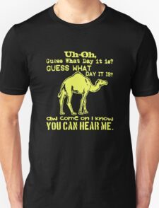 Camel Guess What Day It Is Hump Day T-Shirt