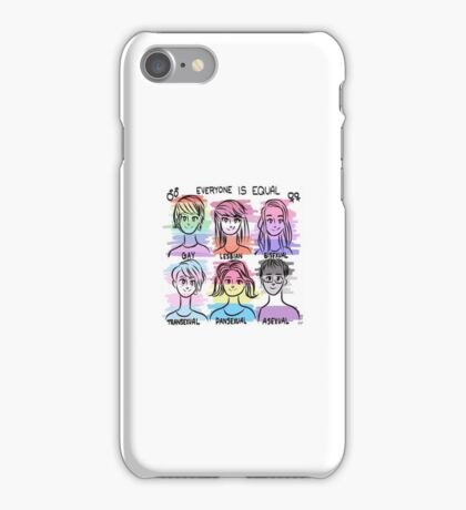 Everyone is equal  iPhone Case/Skin