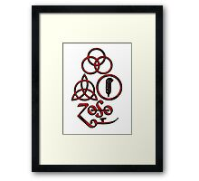 TRIQUETRA - the blood L Framed Print