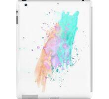 WATERCOLOUR SPLATTER DESIGN 1 iPad Case/Skin