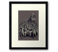 journey to wolf mountain Framed Print