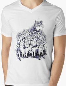 journey to wolf mountain Mens V-Neck T-Shirt