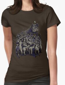 journey to wolf mountain Womens Fitted T-Shirt