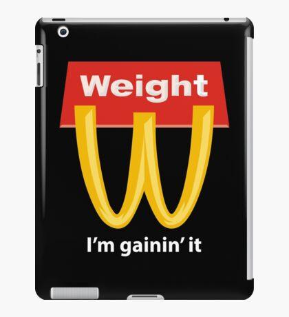 McDonalds Funny Weight I'm Gainin' It iPad Case/Skin