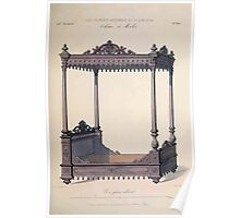 Le Garde Meuble Desire Guilmard 1839 0053 High Style Case Furniture Interior Design Poster