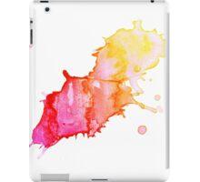 WATERCOLOUR SPLATTER DESIGN 3 iPad Case/Skin