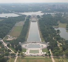 Washington DC Lincoln Memorial by roguefaerie