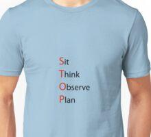 think STOP Unisex T-Shirt
