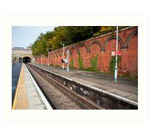 Crystal Palace Train Station: London, UK. Art Print