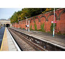 Crystal Palace Train Station: London, UK. Photographic Print