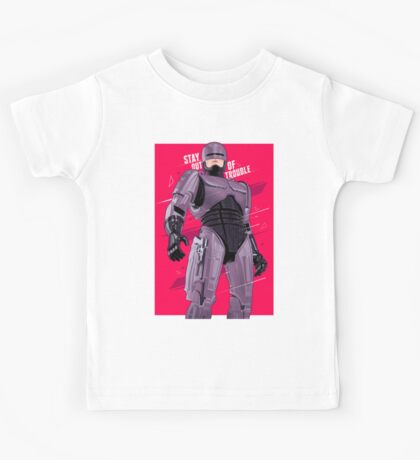 Stay out of trouble Kids Tee