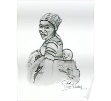 African Mother & Child (1) Poster