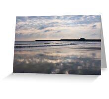 Winter Light ~ Lyme Regis Greeting Card