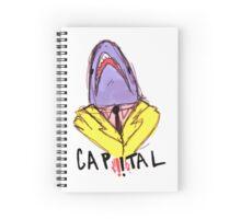 Capital Sharks! Spiral Notebook
