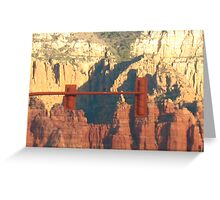 Sedona Light by Bradley Blalock Greeting Card