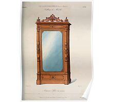 Le Garde Meuble Desire Guilmard 1839 0141 High Style Case Furniture Interior Design Poster