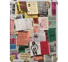 Riot Grrrl Fliers (1996) iPad Case/Skin