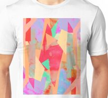 Pastel Colour Map Unisex T-Shirt