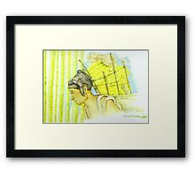 Dignity In Labour Framed Print