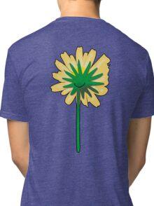 Flower back. Tri-blend T-Shirt