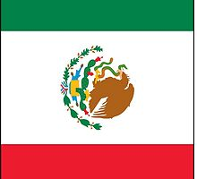 Mexican flag Phone case/skin by Smaragdas