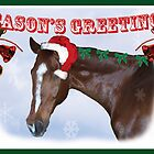Season's Greetings card by Michele Simon