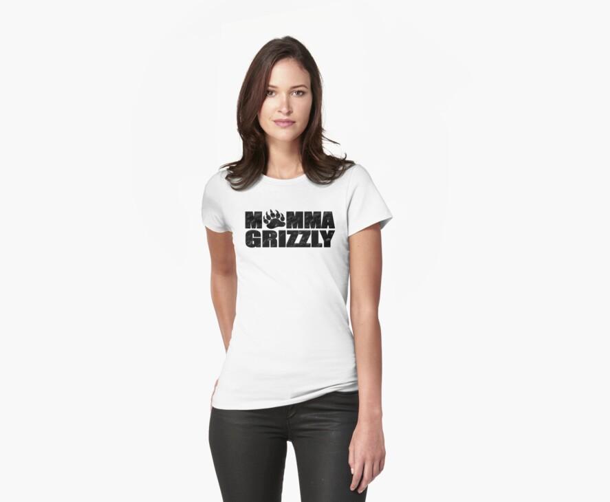 Momma Grizzly by brattigrl
