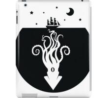 Kraken Night Life (Black) iPad Case/Skin