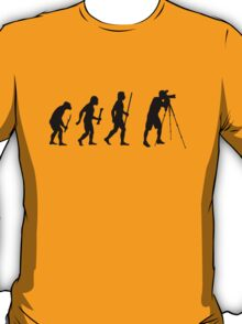 Funny Photography Evolution T-Shirt
