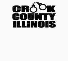 Crook County Illinois Mens V-Neck T-Shirt
