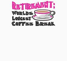 Coffee Break Mens V-Neck T-Shirt
