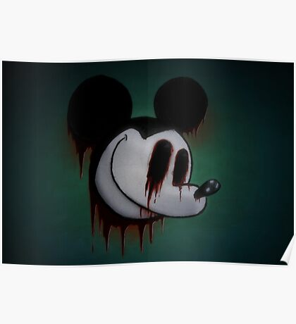 Suicide Mouse Poster