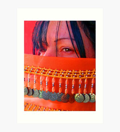 Angel's Eyes... Dance Girl Dance Art Print