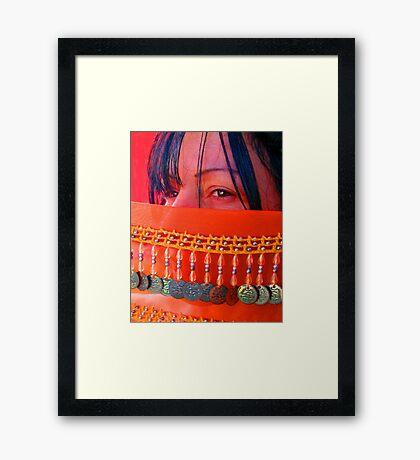 Angel's Eyes... Dance Girl Dance Framed Print