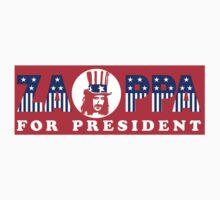 Zappa For President Sticker by RatRock