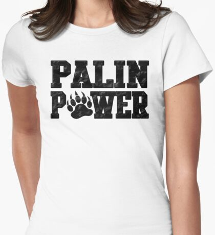 Palin Power Womens Fitted T-Shirt