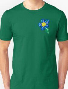 PEACE-Pocket Flower Unisex T-Shirt