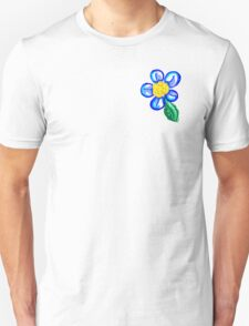 PEACE-Pocket Flower T-Shirt