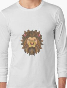 Tangled Lion Long Sleeve T-Shirt